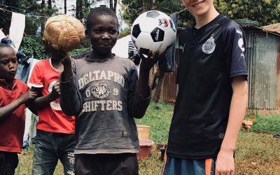 Yukoners Deliver Soccer Balls to Kenya